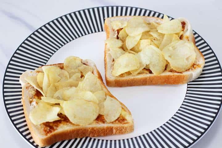 potato chip sandwich recipe