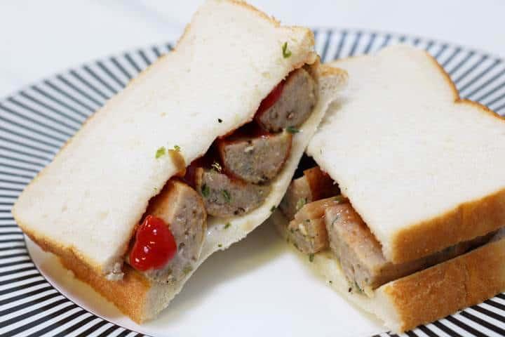 hot sausage sandwich recipe