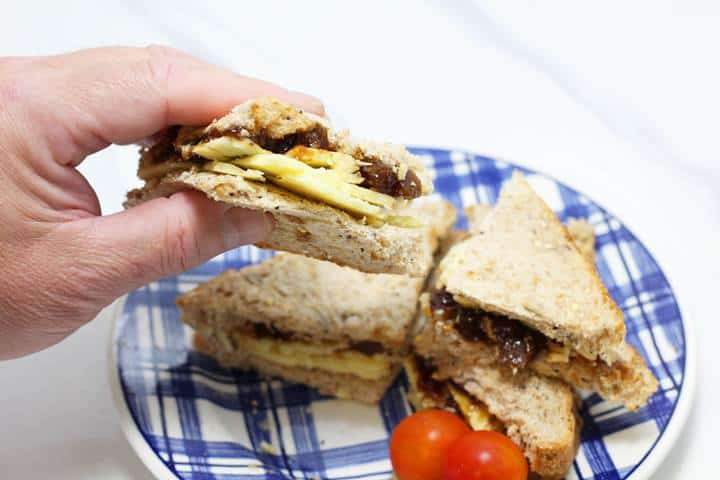 branston pickle sandwich