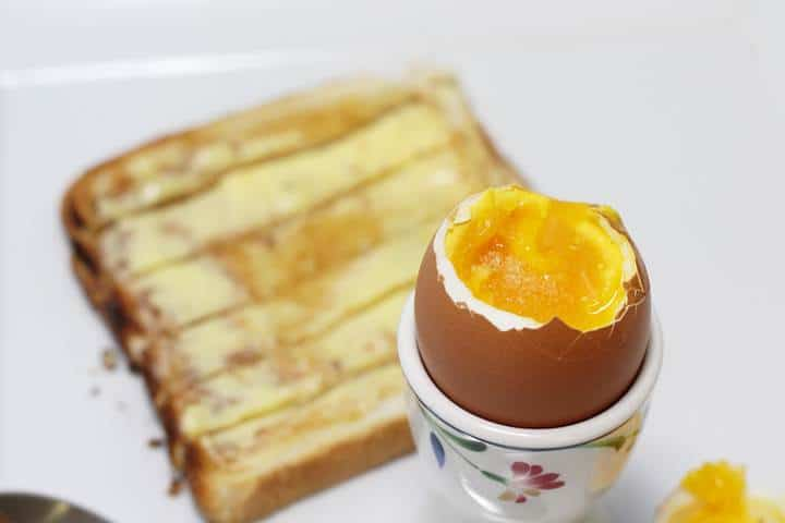 perfect soft boiled egg time