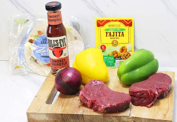 Healthy Steak Fajitas