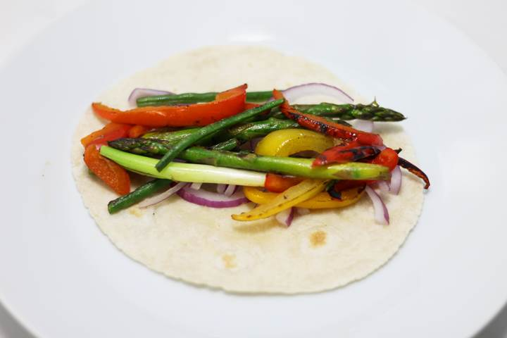 veggie wrap ideas