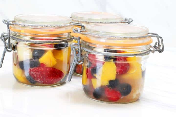 fruit cocktail healthy snacks