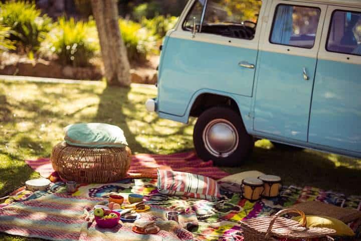 road trip food picnic