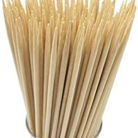 Natural Bamboo Skewers for BBQ