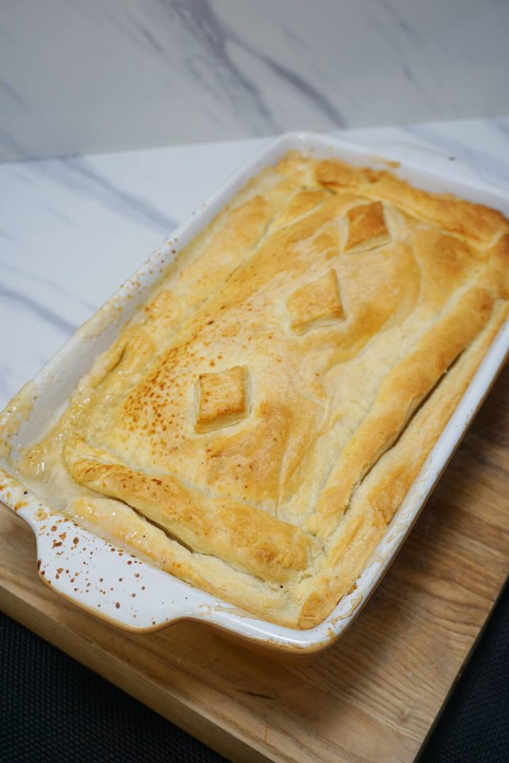 chicken and ham pie recipe easy