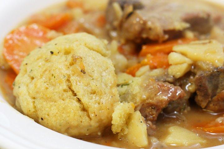 lamb casserole with dumplings