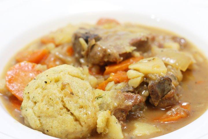 Irish Lamb Stew with Dumplings