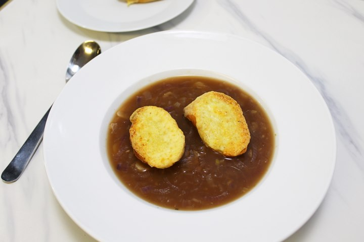 good vegetarian french onion soup