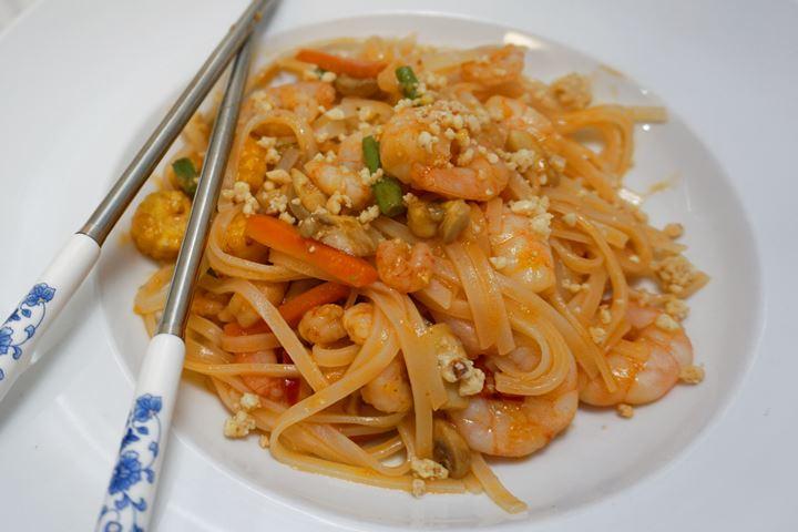spicy pad thai recipe