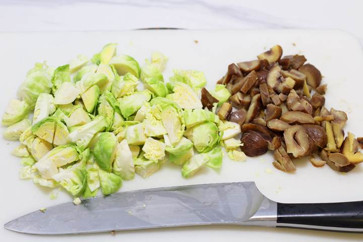 brussels with chestnuts