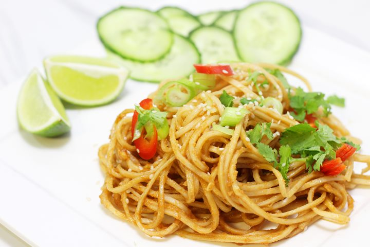 peanut butter noodles chinese