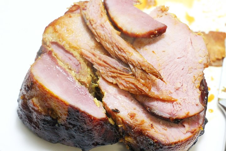 boiled and baked ham
