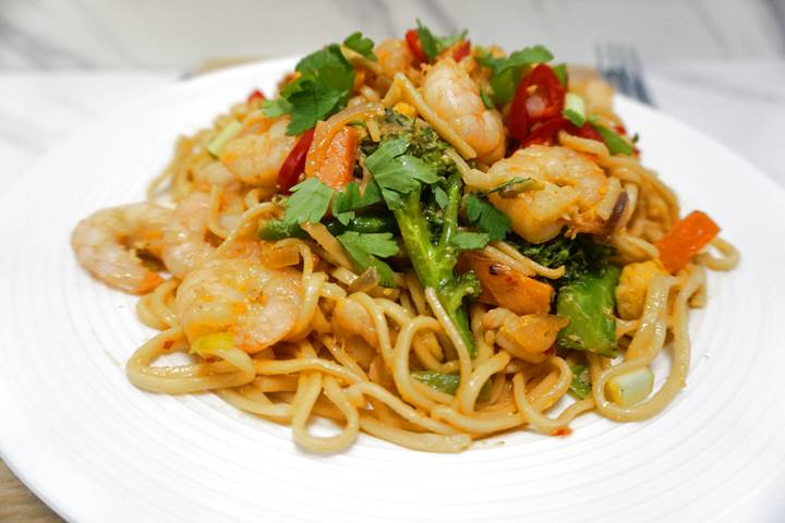 spicy thai noodles recipe