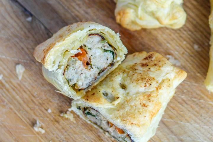 british sausage rolls