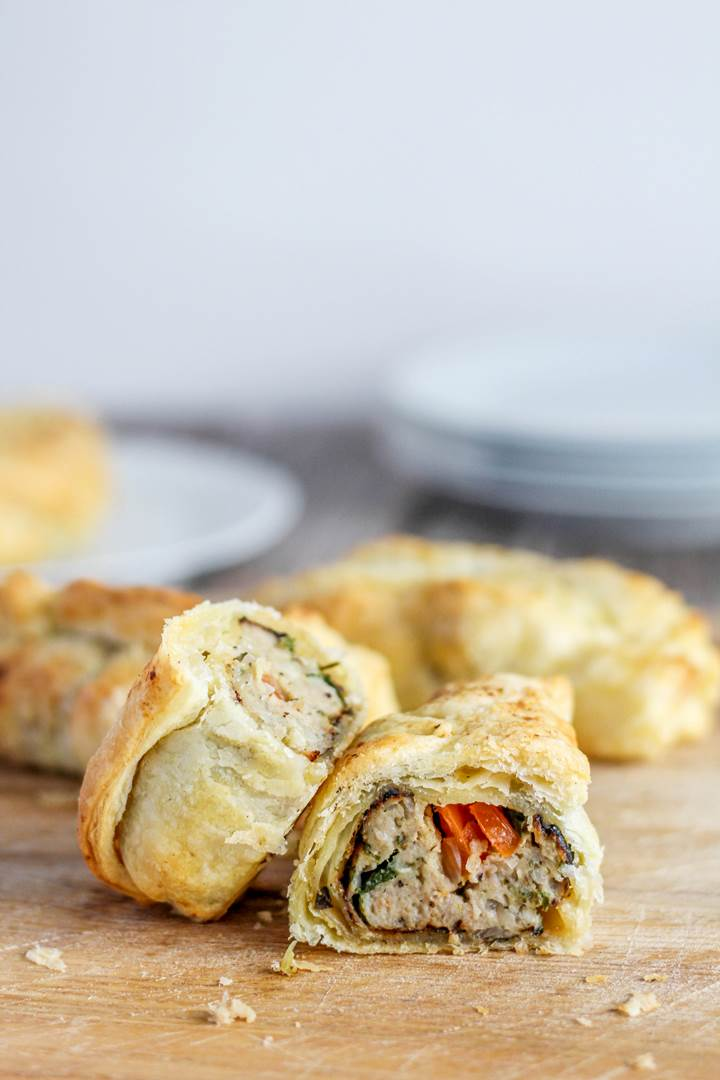 sausage roll recipe with a twist
