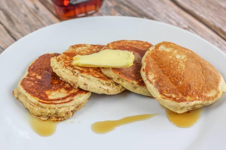 American Style Muesli Pancakes