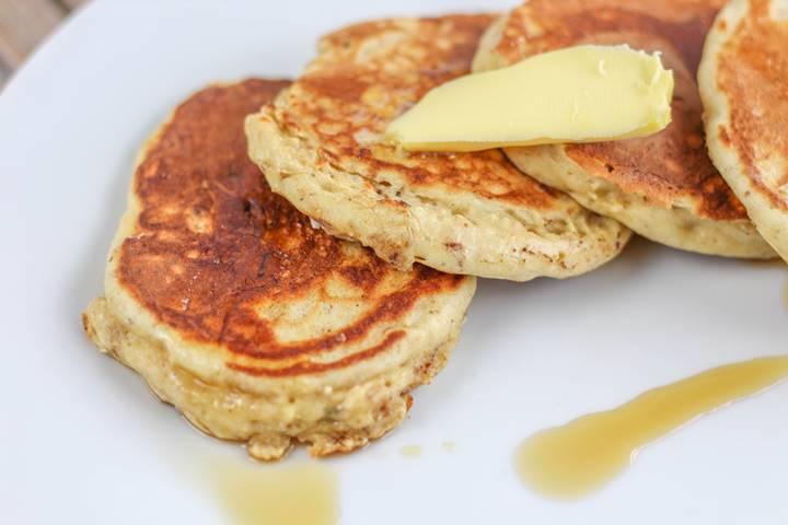 muesli pancakes