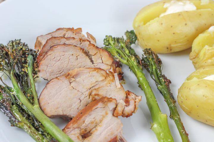 brown sugar glazed pork loin recipes