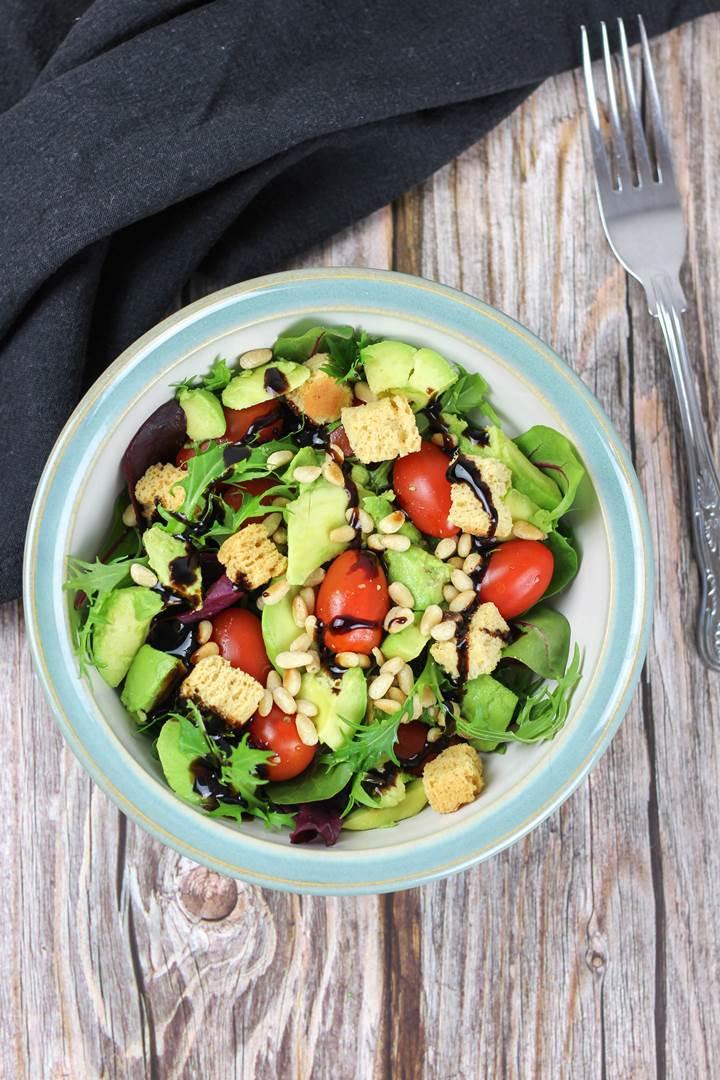 baby leaf salad recipe