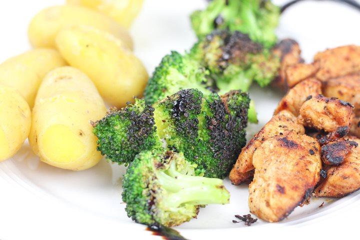pan fried broccoli
