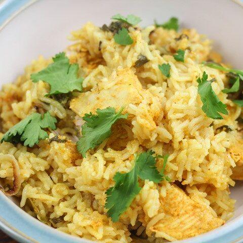 Chicken Biryani in Instant Pot