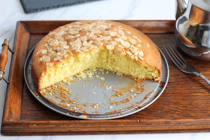lemony madeira sponge cake