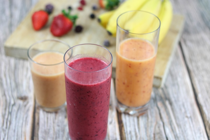 healthy mango smoothies