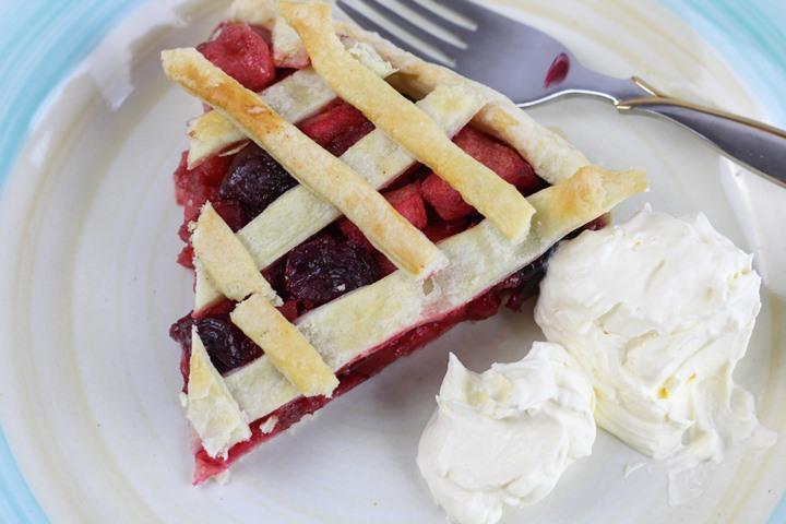 cherry apple tart
