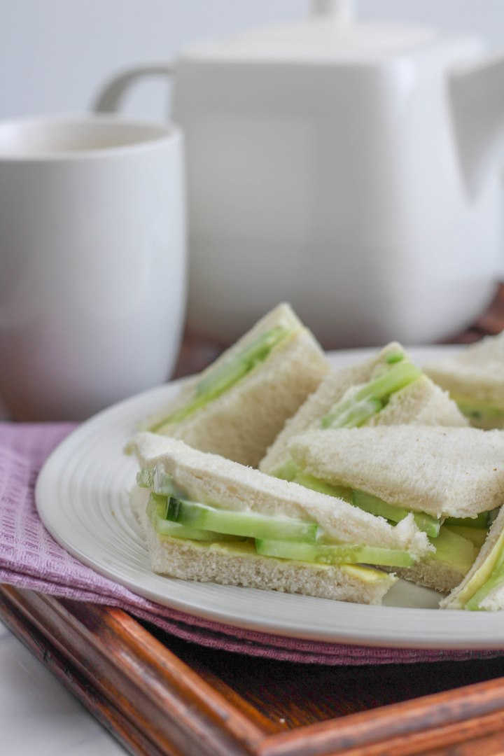 Uneven sandwich
