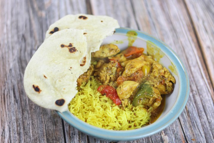 indian curry pilau rice