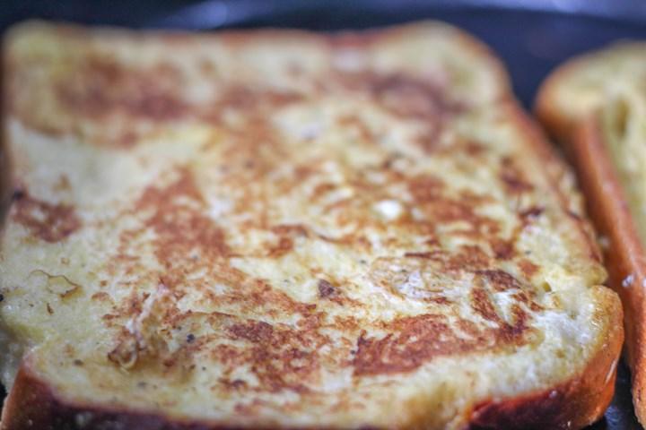 pan fried egg bread
