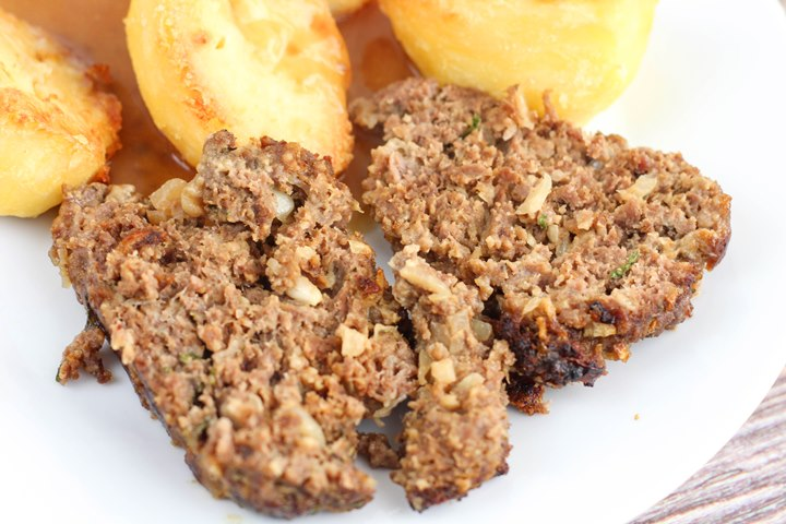 meatloaf with spuds