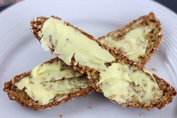 buttered soda bread
