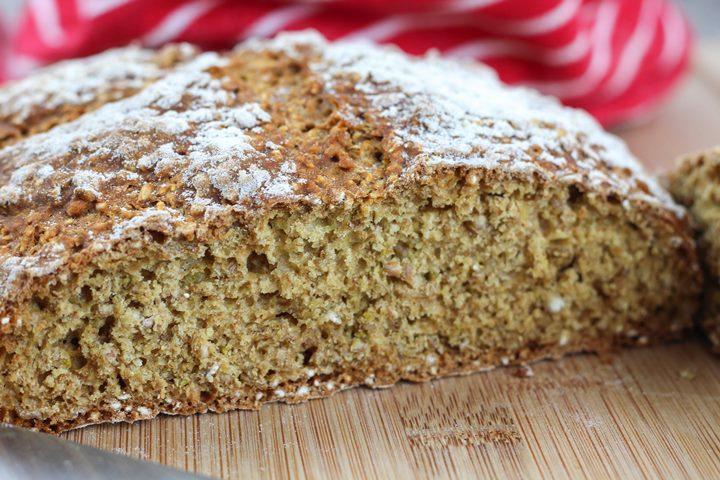 irish soda bread crumb