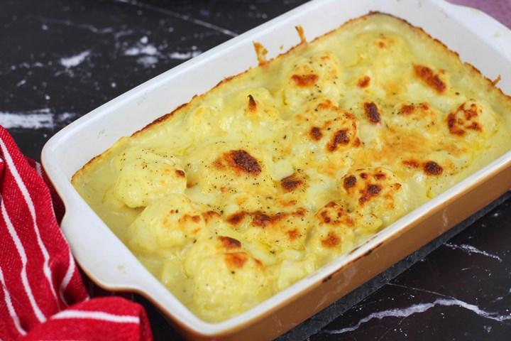 cauliflower cheddar cheese