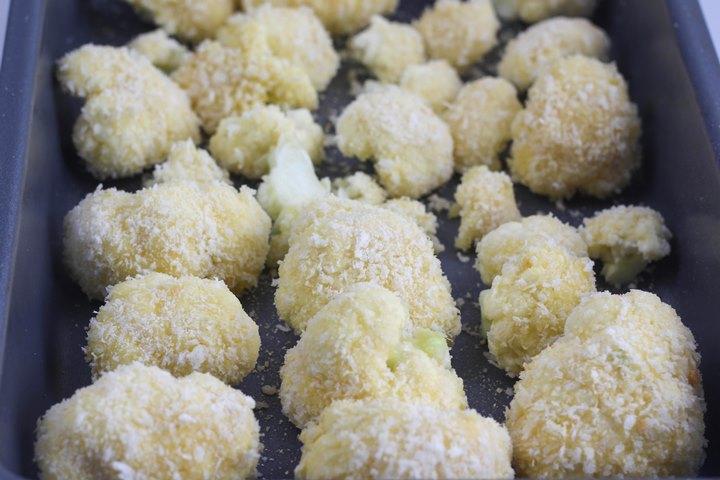panko crusted cauliflower