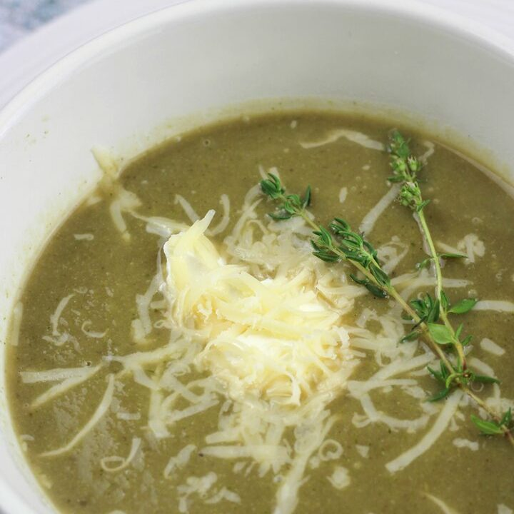 broccoli & cauliflower soup