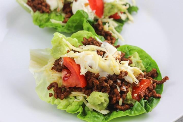 lettuce taco wrap