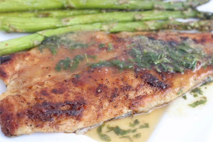 sea bass dinner menu