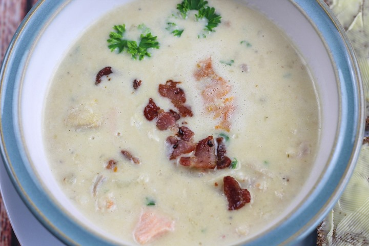 easy recipe for seafood chowder