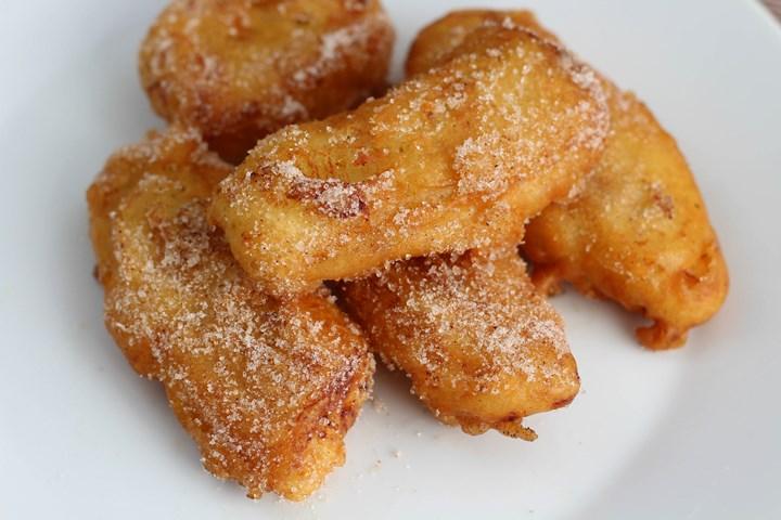 crispy fried bananas