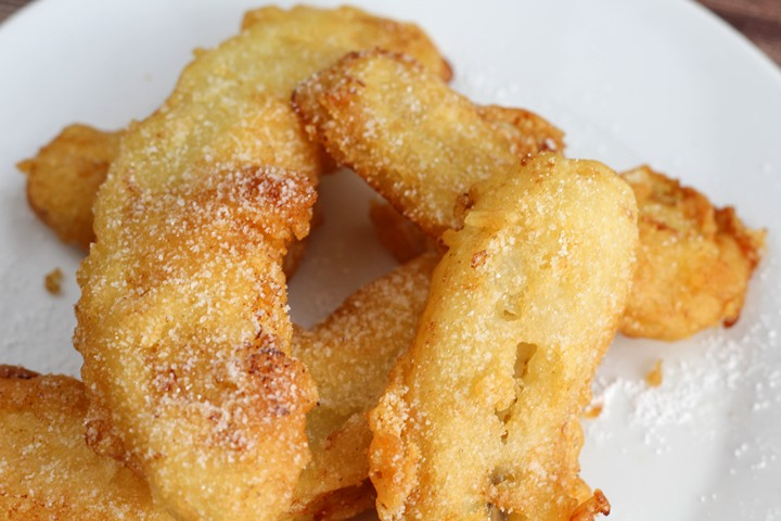 recipe for banana fritters