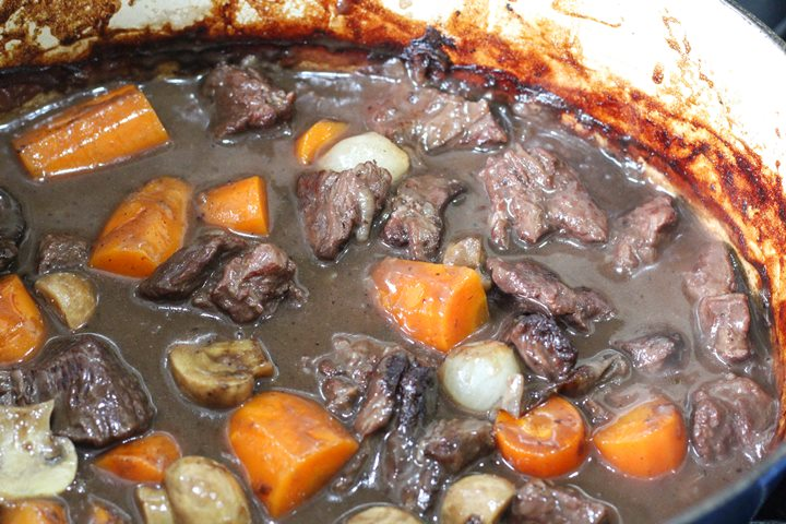 beef stew in dutch oven