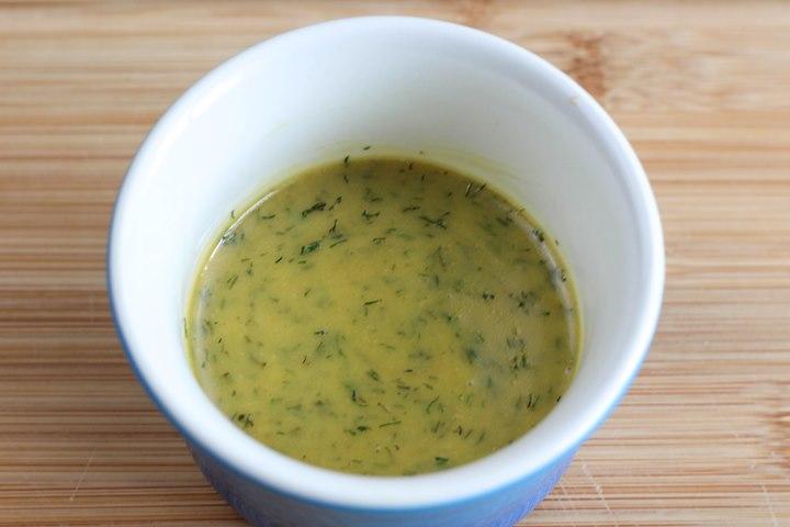 Dill Honey Mustard Sauce