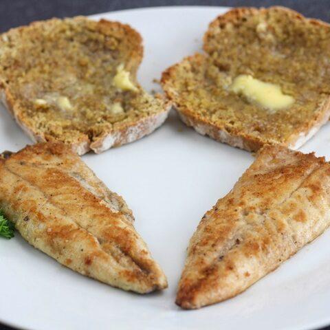 fried mackerel fillets