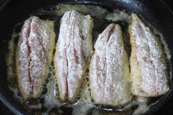frying mackerel fillets