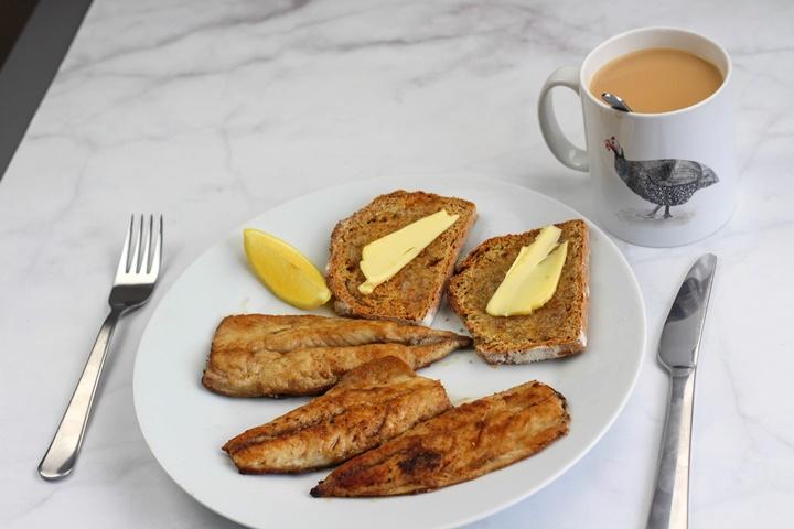 mackerel breakfast