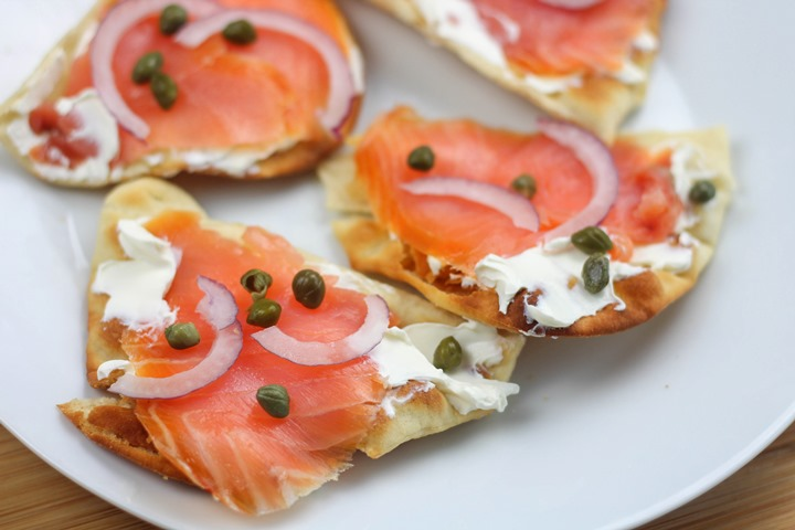 smoked salmon cream cheese appetizers