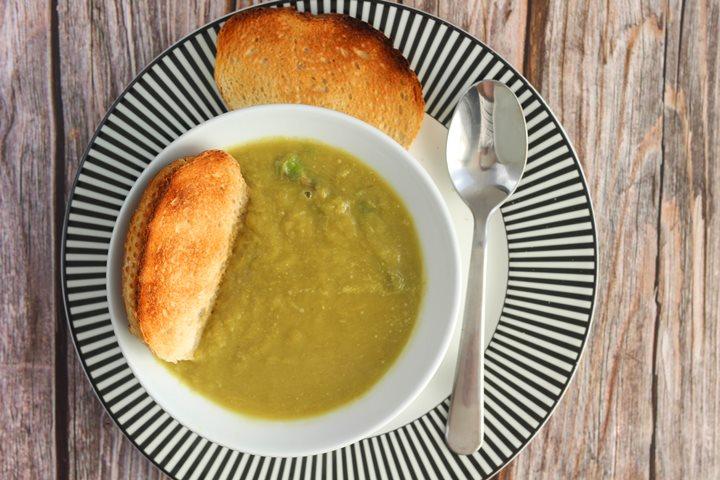 asparagus soup no cream
